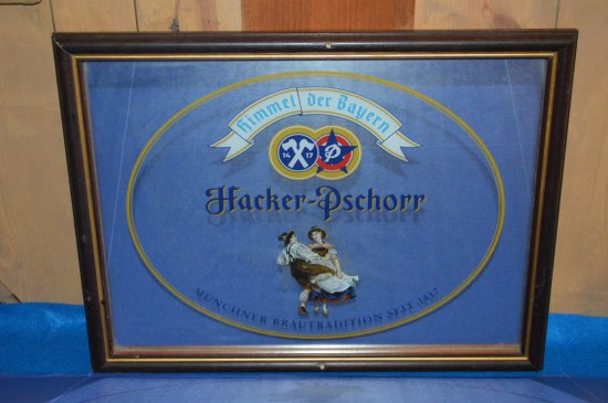 HACKER PSCHOOR MIRRORED SIGN,