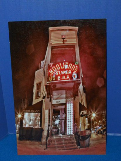 HOOLIGAN'S SUPER BAR PHOTO SIGNAGE