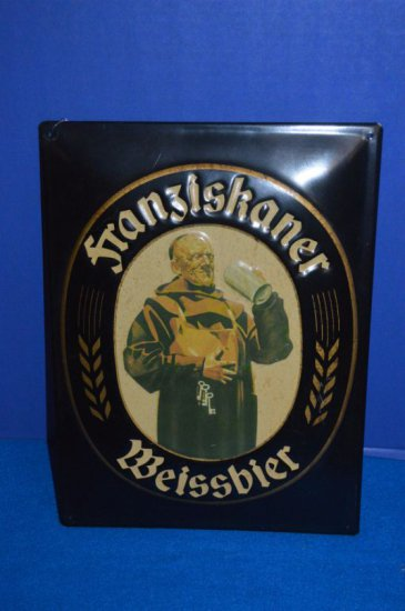 FRANZIKANER WEISSBIER METAL SIGN