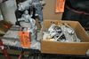 ASSORTED SPRAY GUNS IN BOX, ONE INCLUDES POT