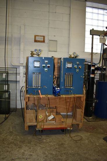 ARGON FILLING STATION, PLC CONTROLS, ALL LEADS