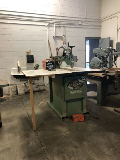 (1992) C.R. ONSRUDE INVERTED ROUTER TABLE,