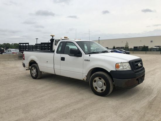 (2007) FORD F150 PICKUP TRUCK, VIN NO.