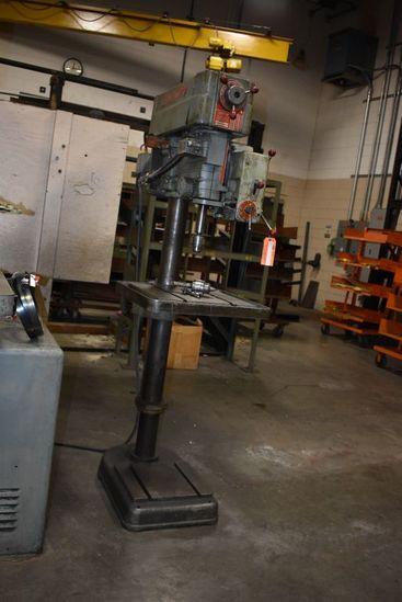 254 POWERMATIC DRILL PRESS, MODEL 1200, | Industrial