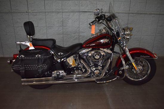 2012 HARLEY DAVIDSON MOTORCYCLE MODEL HERITAGE,