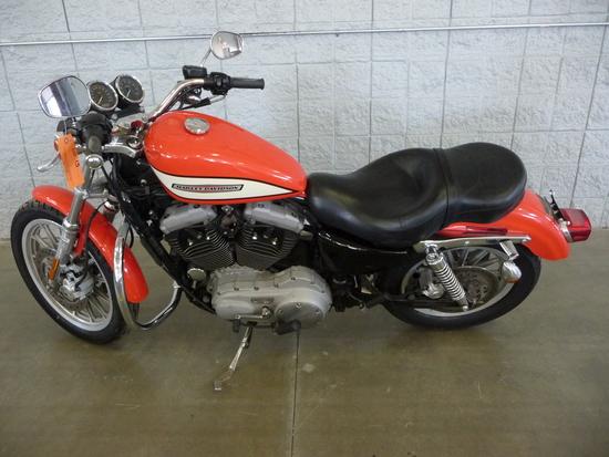 2004 HARLEY DAVIDSON XL1200R, SHOWS 7,422 MILES,