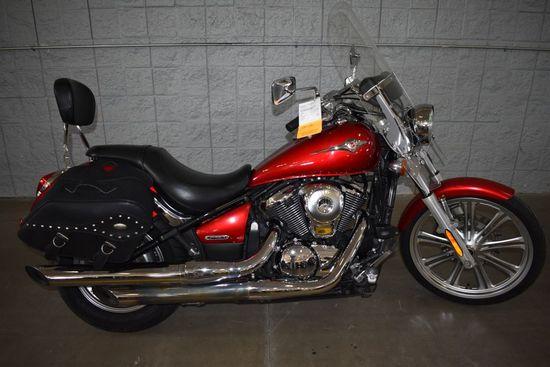 2007 KAWASAKI MOTORCYCLE, MODEL VULCAN 900 C,