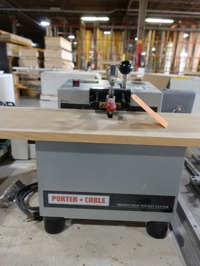 PORTER CABLE PRODUCTION POCKET CUTTER, MODEL 552,