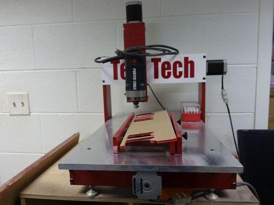 TEMTECH CNC TEMPLATE MAKER MODEL MI-24, INCLUDES