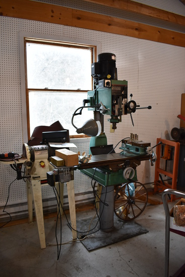 METAL & WOODWORKING MACHINE SHOP & ANTIQUES