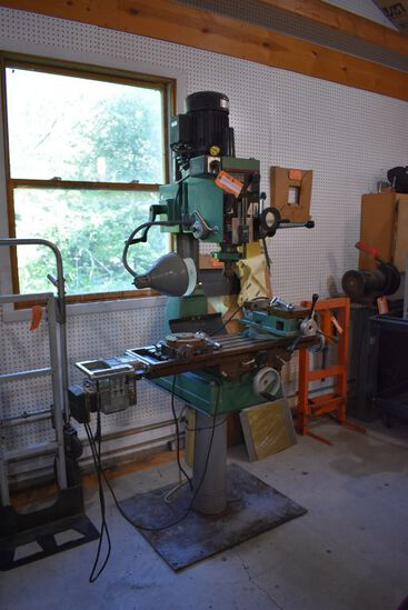 (1992) MILLING & DRILL VERTICAL MACHINE,