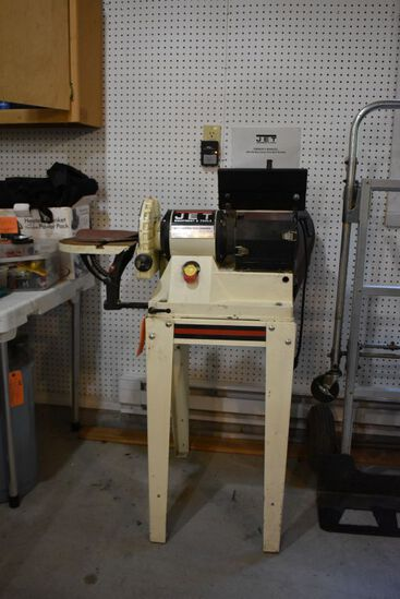 JET BELT SANDER/DISC GRINDER, MODEL JSG-96, 3/4 HP,