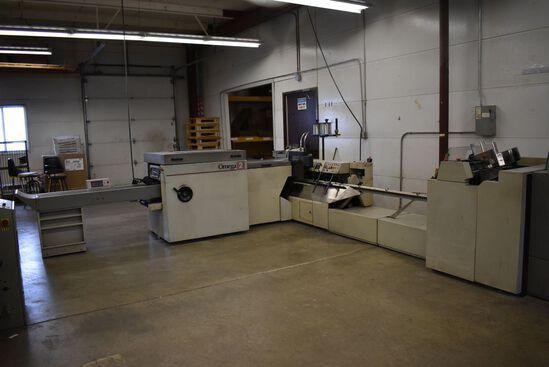 KC MACEY OMEGA 2 AUTOMATIC SADDLE BINDER, 6 POCKETS,