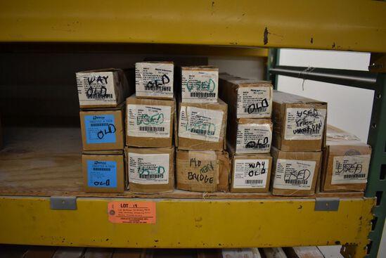 (15) BOTTCHER HEILDELBERG MO43 USED INK ROLLERS,