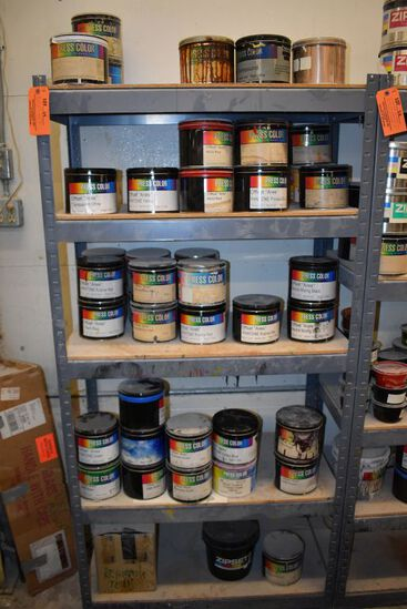 ALL PRESS COLOR INK, OFFSET VARIOUS COLORS,