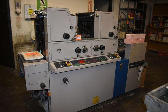 (CIRCA 1980'S) RYOBI 2 COLOR PRESS, MODEL 3302M,