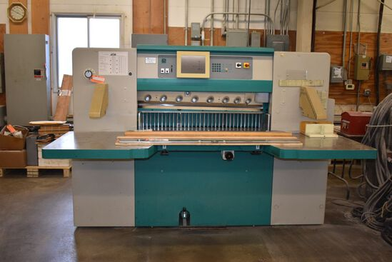 (2001) PERFECTA AUTOMATIC PROGRAMMABLE GUILOTINE