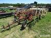 H&S Bi-fold 12 wheel rake