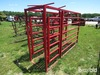 Red Cattle chute