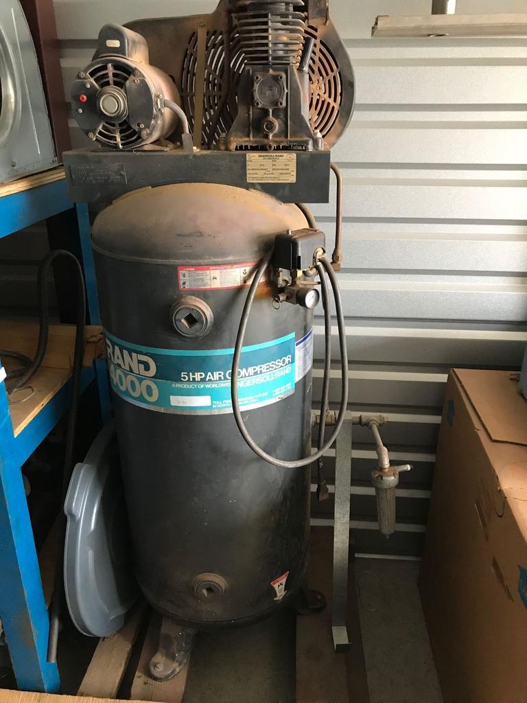 Tool & Equipment storage unit Auction