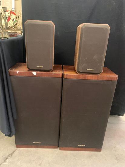 Optimus speakers set
