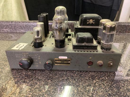 RCA Bridging Amp untested