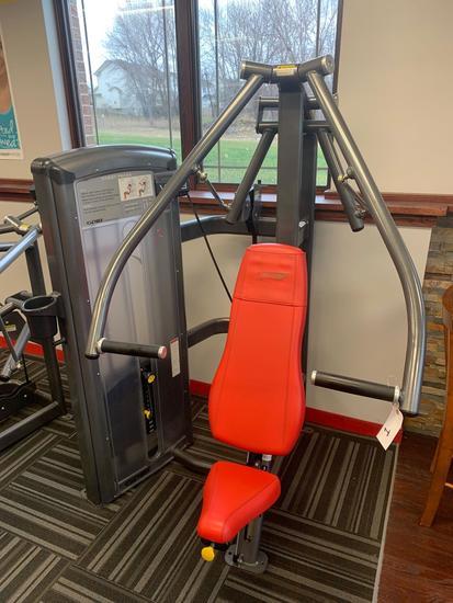 Cybex Chest Press VR3 230 pound stack belt driven