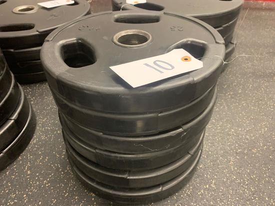 GP Rubber Coated Grip weights 25 lbs 6 times the money