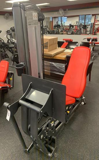 Cybex VR3 Leg Press machine adjustable weight up to 390 lbs belt driven