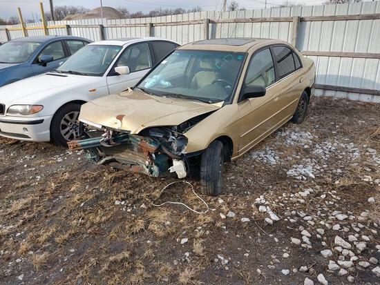 D17 2001 Honda Civic 1HGES26791L046640