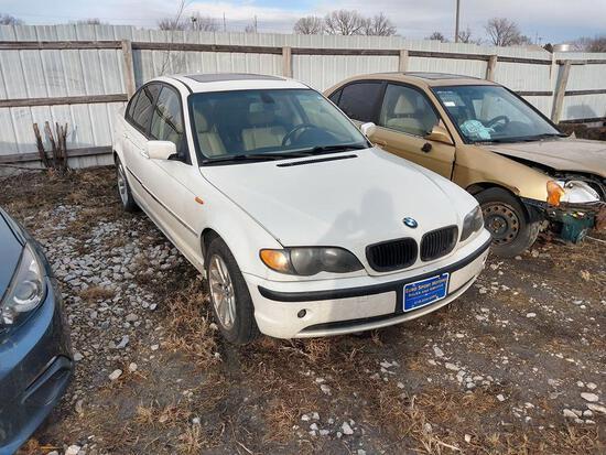 D30 2005 BMW 325XI WBAEU33465PR15988 WHITE Impound