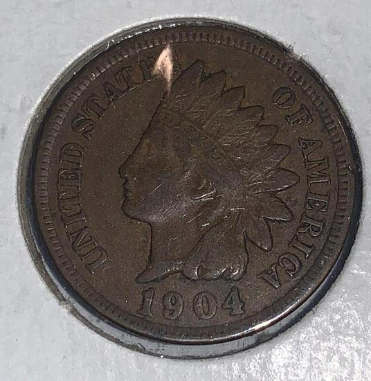1904 Indian Head Penny MS