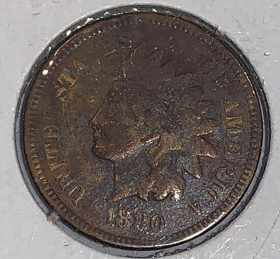 1880 Indian Head Penny MS