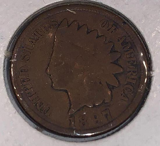 1897 Indian Head Penny F