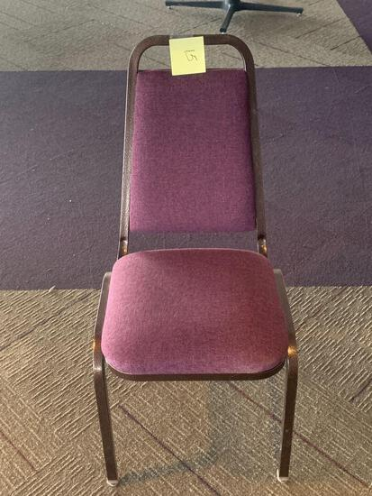 30x-Violet padded chairs excellent condition