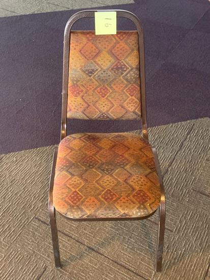 68x-Autumn color padded chairs excellent shaped