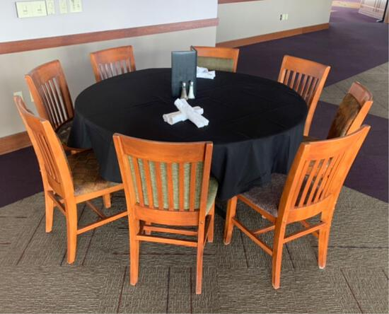 10x-5? Round Tables convertible to square 42? tables.