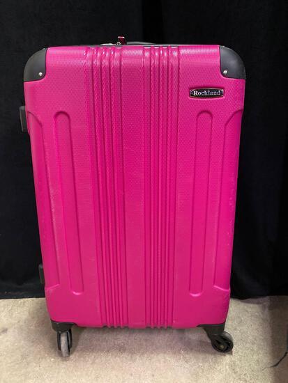 New Pink Suit Case