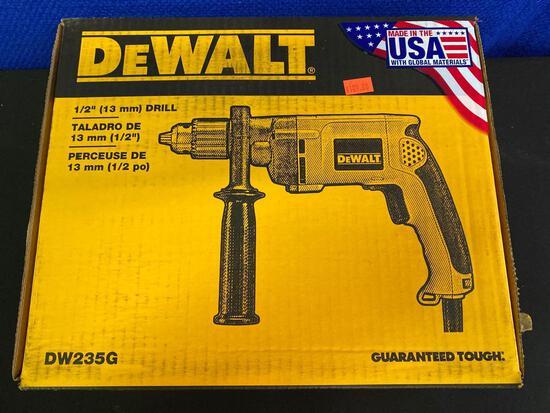 New DeWalt 1/2 Drill