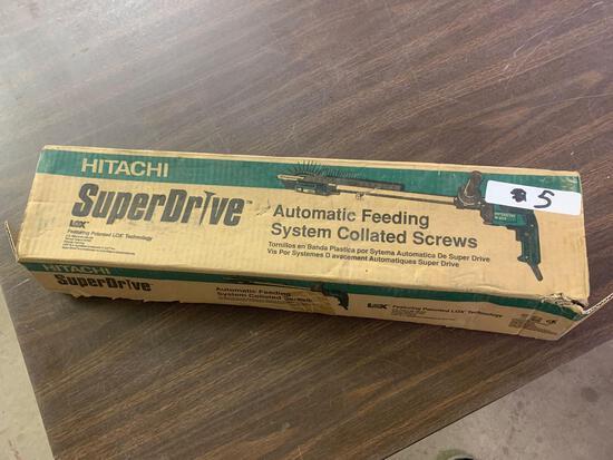 Hitachi Super Drive 2-1/2 inch deck screws