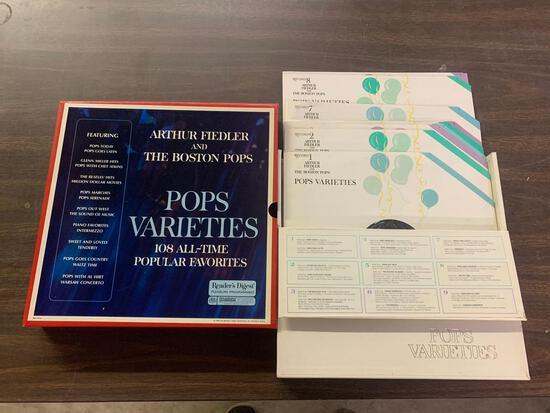Records Pop Varieties set