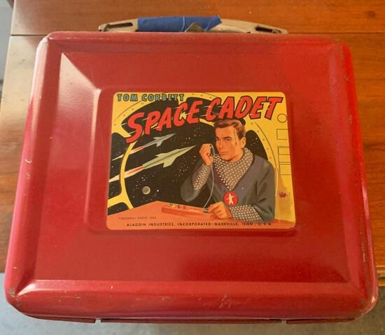 Rockwell radio 1952 Tom Corbett space cadet lunch box original condition hard to find