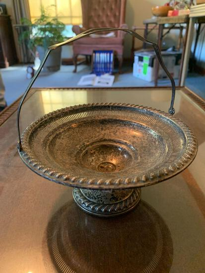 Rogers sterling silver handled tray