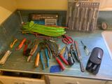 Lot of tools including new hex driver set