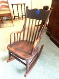 Child rocking chair antique nice