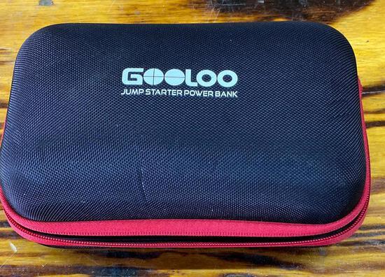 Gooloo Jump starter power bank