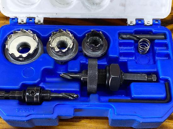 Lenox carbide hole cutter electricians kit