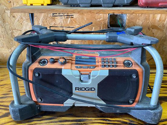 Ridgid Portable Radio