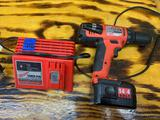 Milwaukee 14.4 V drill and charger