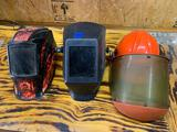 Miller welding mask Jackson welding mask plus electric safety helmet and mask